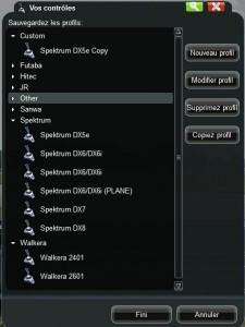 liste des télécommandes compatibles