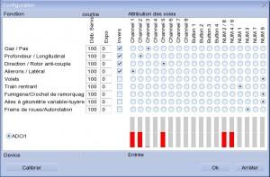 paramétrage radio easyfly 4